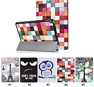 cheap -Case For Apple iPad Pro 10.5 with Stand / Ultra-thin Full Body Cases Word / Phrase / Eiffel Tower / Animal Hard PU Leather for iPad Pro