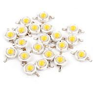Недорогие -YouOKLight 50шт Аксессуары для ламп LED чип Светодиодный индикатор чистого золота Прозрачный 1W