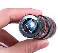 Недорогие -8X18mm Монокль Портативные BAK4 Многослойное покрытие 250/1000m Пешеходный туризм / Походы / Путешествия Пластиковый корпус