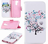 cheap -Case For LG K10 2018 / G7 Card Holder / Wallet / with Stand Full Body Cases Tree Hard PU Leather for LG V30 / LG V20 / LG Q6