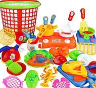 Недорогие -Ролевые игры Главная Кухня инструмент / Взаимодействие родителей и детей Детские / дошкольный Подарок 35pcs