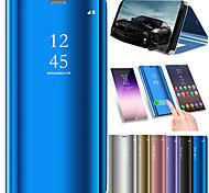 preiswerte -Hülle Für Xiaomi Mi Mix 2 / Mi 5X mit Halterung / Beschichtung / Spiegel Ganzkörper-Gehäuse Solide Hart PU-Leder für Xiaomi Mi Mix 2 /