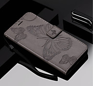 cheap -Case For Samsung Galaxy S9 Plus / S9 Wallet / Card Holder / with Stand Full Body Cases Butterfly Hard PU Leather for S9 / S9 Plus / S8