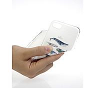 Недорогие -Кейс для Назначение Apple iPhone X / iPhone 7 Ультратонкий / С узором / Милый Кейс на заднюю панель Животное Мягкий ТПУ для iPhone X /