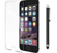Недорогие -Защитная плёнка для экрана для Apple iPhone 8 Pluss / iPhone 7 Plus Закаленное стекло 1 ед. Защитная пленка для экрана / Протектор