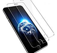 Недорогие -Защитная плёнка для экрана для Apple iPhone 8 Pluss Закаленное стекло 2 штs Защитная пленка для экрана HD / Уровень защиты 9H / 2.5D закругленные углы