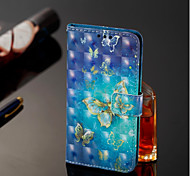 cheap -Case For Samsung Galaxy A6+ (2018) / A6 (2018) Wallet / Card Holder / with Stand Full Body Cases Butterfly Hard PU Leather for A6 (2018)