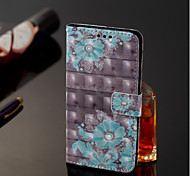 cheap -Case For Samsung Galaxy A6+ (2018) / A6 (2018) Wallet / Card Holder / with Stand Full Body Cases Flower Hard PU Leather for A6 (2018) /