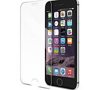 Недорогие -Защитная плёнка для экрана для Apple iPhone 8 / iPhone 7 Закаленное стекло 1 ед. Защитная пленка для экрана HD / Уровень защиты 9H /