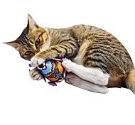 Недорогие -Кошачья приманка / Плюшевые игрушки / Игрушки с писком Подходит для домашних животных / Животные / Скрип Фланель / Плюш Назначение Коты /