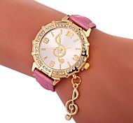 Недорогие -Xu™ Жен. Нарядные часы / Наручные часы Китайский Творчество / Повседневные часы / Милый PU Группа Мода / Элегантный стиль Черный / Белый / Синий