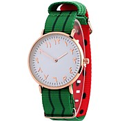 Недорогие -Жен. Нарядные часы / Наручные часы Китайский Повседневные часы / обожаемый / Крупный циферблат Материал Группа На каждый день / Мода
