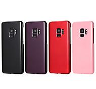 Недорогие -Кейс для Назначение SSamsung Galaxy S9 Plus / S9 Новый дизайн Кейс на заднюю панель Однотонный Твердый ПК для S9 / S9 Plus / S8 Plus