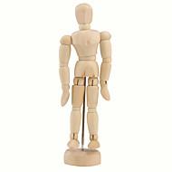 """billige Legetøj og hobby-Træ 14-Joint Bevægelig Dukke Model Med Display Bund (5,5 """")"""