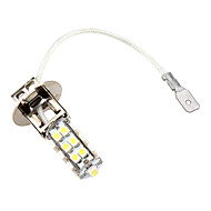 h3 26 SMD LED 5500K witte koplamp 3W