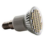 E14 GU10 E26/E27 LED-spotlampen PAR38 60 leds SMD 3528 Warm wit Natuurlijk wit 2800lm 2800KK AC 220-240V
