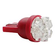 Недорогие Сигнальные огни для авто-T5 Автомобиль белый 0.5W ДИП светодиоды Лампа подсвета приборной доски