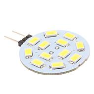 お買い得  LED スポットライト-170 lm G4 LED2本ピン電球 12 LEDビーズ SMD 5630 ナチュラルホワイト 12 V / # / # / #