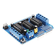 cheap Arduino Accessories-L293D Motor Driver Expansion Board Motor Control Shield (Blue)
