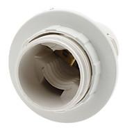 E14 Bulb Socket Lamp Holder (White)