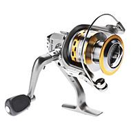 tanie Akcesoria wędkarskie-Kołowrotki Kołowrotki spinningowe 5.1:1 4.0 Łożyska kulkowe wymienny / Zwrócony w prawo / Leworęczna Sea Fishing / Wędkarstwo słodkowodne