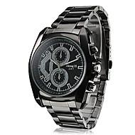 Недорогие Фирменные часы-Муж. Наручные часы Горячая распродажа сплав Группа Кулоны / Нарядные часы Черный
