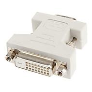 DVI 24 +1 til VGA F / M Adapter