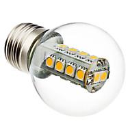 e26 / e27 led-polttimot g45 18 smd 5050 230lm lämmin valkoinen 6000k ac 220-240v