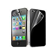 Защитная пленка на экран для iPhone 4/4S (6 передних и 6 задних)