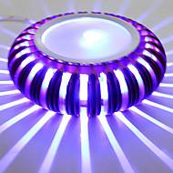 3 Integrert LED Moderne / Nutidig galvanisert Trekk for LED Mini Stil Pære inkludert,Atmosfærelys Vegglampe