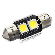 Недорогие Внешние огни для авто-Фестон Автомобиль Лампы 70-80 lm Внутреннее освещение For Универсальный