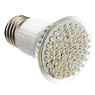 halpa LED-kohdevalaisimet-E27 3.5W 60-LED 350-400lm 3000-3500K Warm White Light LED Spot lamppu (85-265V)