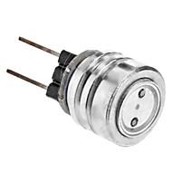 お買い得  -SENCART 1W 550lm G4 LEDスポットライト 1 LEDビーズ ハイパワーLED ブルー 12V 220-240V
