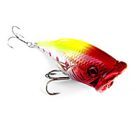 pcs Hard Bait Popper Green Yellow Red g/Ounce mm inch,Hard Plastic Sea Fishing Freshwater Fishing