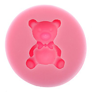 3D Bear Shaped Silicone Cookie Biscuit Mold