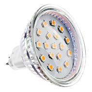 お買い得  LED スポットライト-2W 150-200lm GU5.3(MR16) LEDスポットライト MR16 15 LEDビーズ SMD 2835 温白色 12V