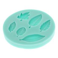 Leaves Series 3D Liquid Silicone Double Sugar Mold Shape