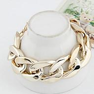 Dames Armbanden met ketting en sluiting verklaring Jewelry Legering Sieraden Voor Dagelijks