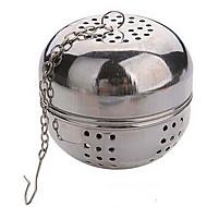 abordables Gran promoción para el hogar-bola de acero té multifunción diámetro 5.5cm bloqueo colador infusor teteras