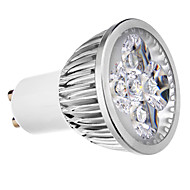 4W GU10 Spot LED 4 diodes électroluminescentes Blanc Chaud Blanc Froid 400lm 3500/6000K AC 100-240V