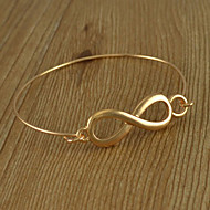 Simple Thin 8-shaped Bangle