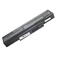 5200mAh erstatning laptop-batteri for Acer MSI BenQ HP500 A9T HP900 SQU-528 F3 6cell - Svart