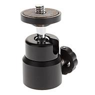Mini Portable Metal Flash Holder Mount for Camera - Black