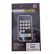 Профессиональный ромба Фильм с антибликовым покрытием ЖК-экран Гвардии Protector для Samsung Galaxy Y S5303 Plus