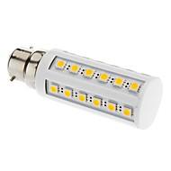 B22 LED Corn Lights T 36 leds SMD 5050 Warm White 3000