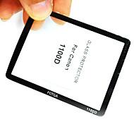 Fotga prima la pantalla LCD del panel protector de vidrio para Canon EOS 1000D