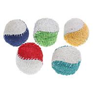 Kutyajátékok Játékok kisállatoknak Golyó Fogtisztító játék Loofahs & Sponges Teniszlabda Textil