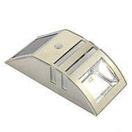 Zonne Motion Sensor Super Bright LED Wall Light voor Pathway Staircase Step Garden Yard Muur Drive Way
