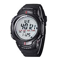 זול -של ילדים / גברים SYNOKE LEO חיוג שעון יד הדיגיטלי עמיד השחור PU בנד מים