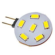 お買い得  LED スポットライト-SENCART 1個 2.5 W 120-150 lm G4 LEDスポットライト 6 LEDビーズ SMD 5730 クールホワイト 12 V